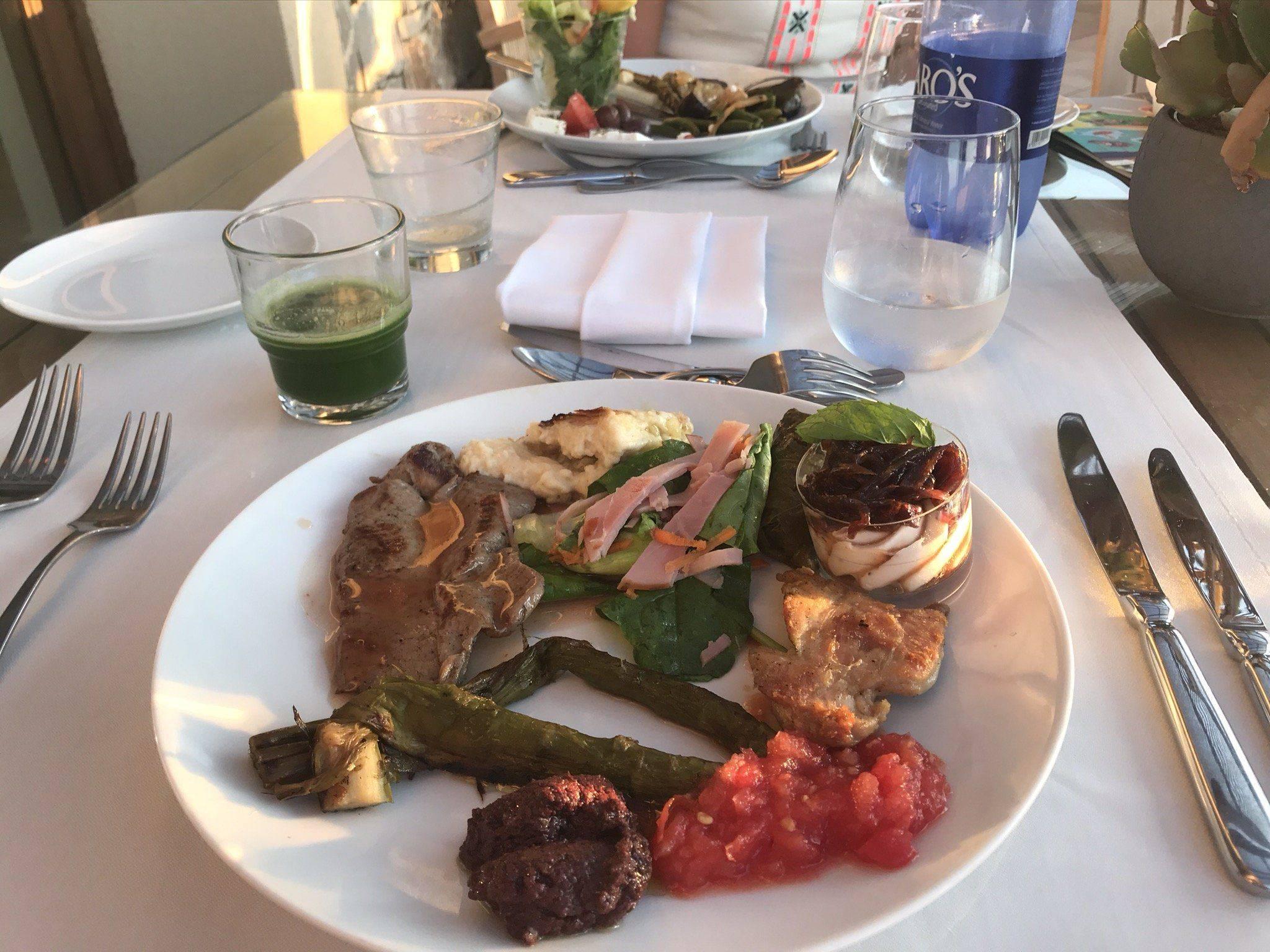 Familienhotel Kreta Abendessen
