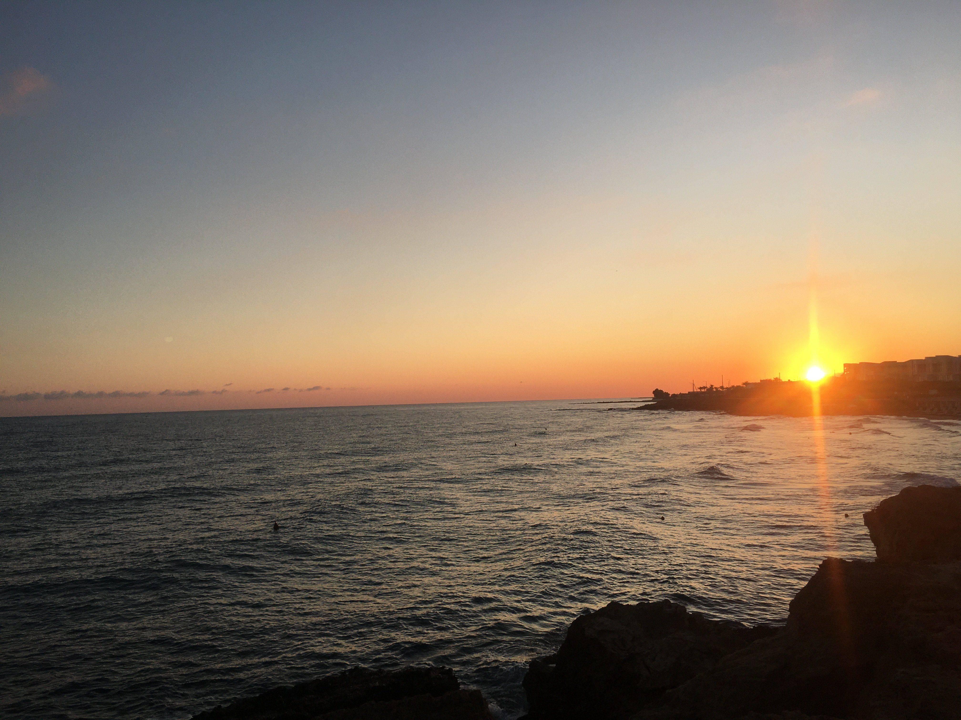 Kreta Sonnenuntergang