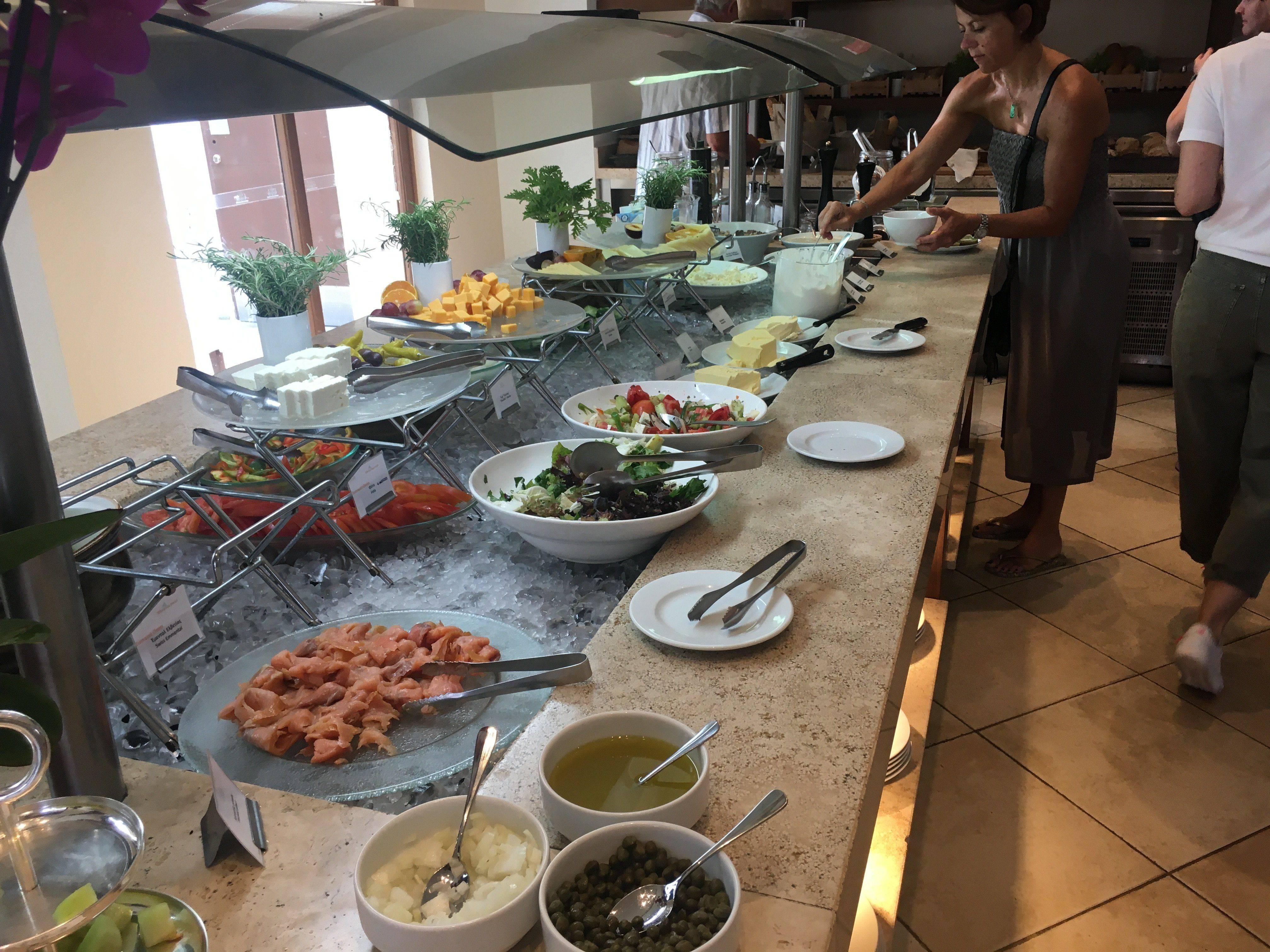 Grecotel Amirandes Salatbuffet