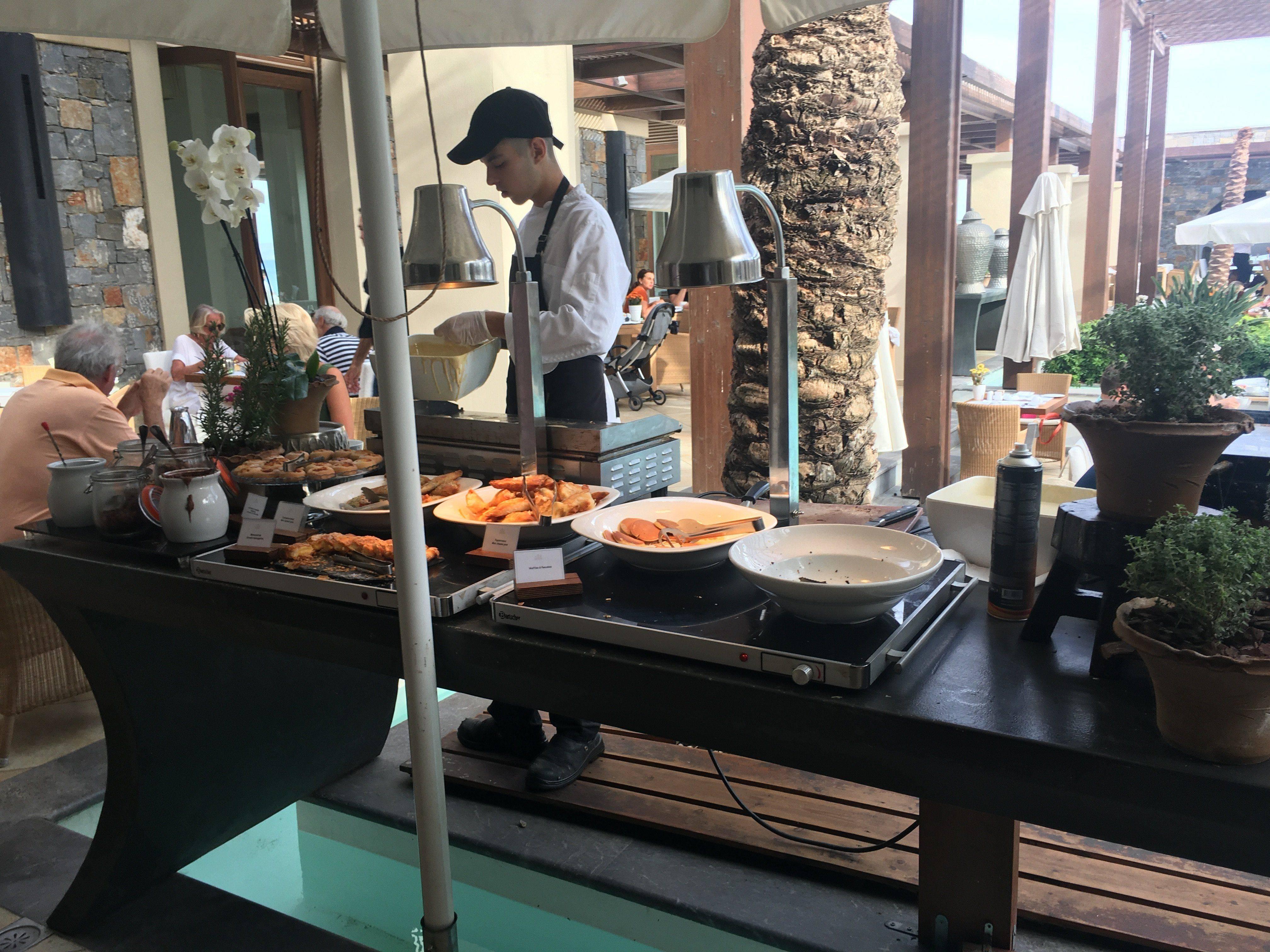 Fmilienhotel Kreta Live Cooking