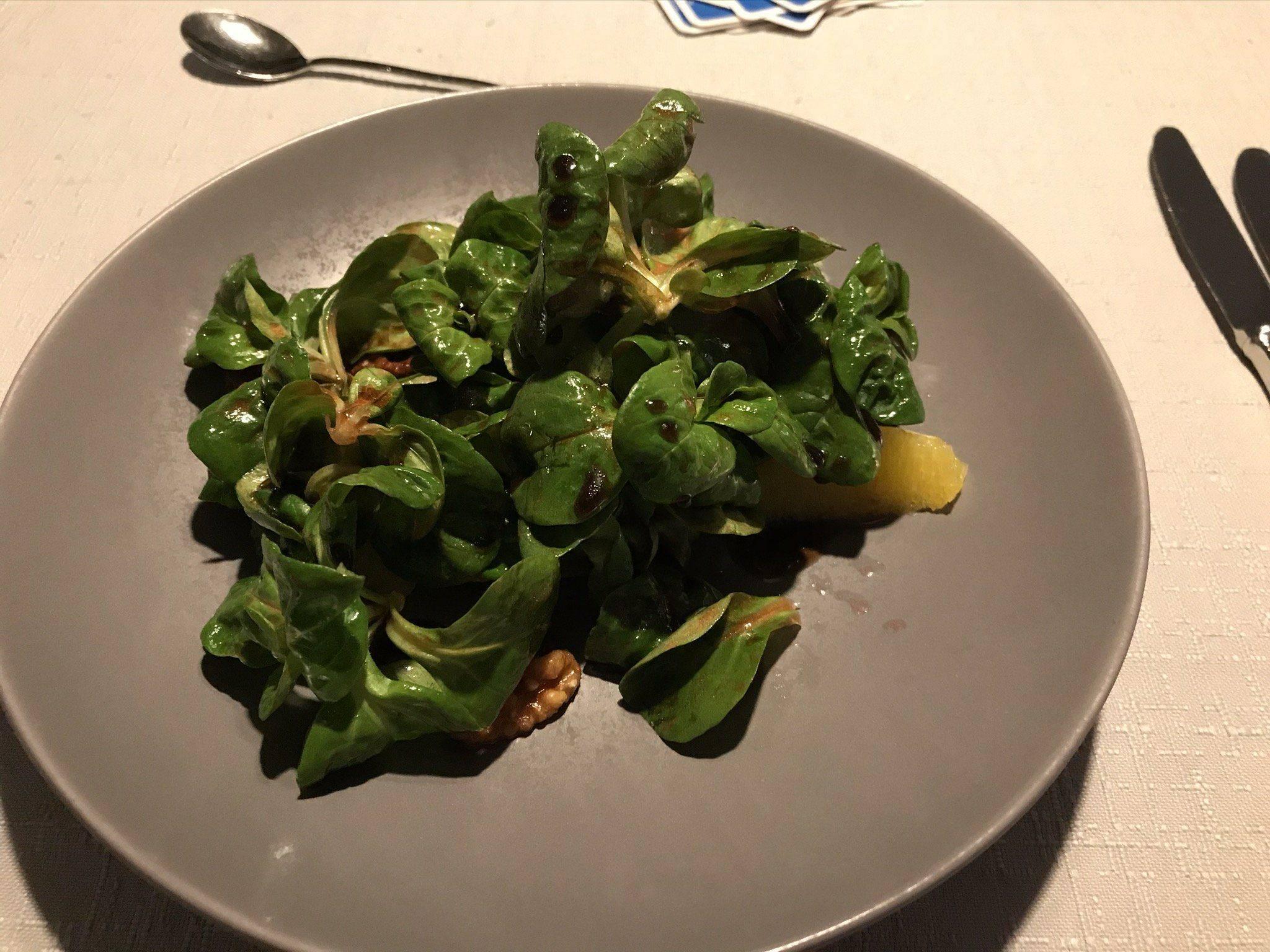 Kirnbacher Hof Salat zum Abend Menue