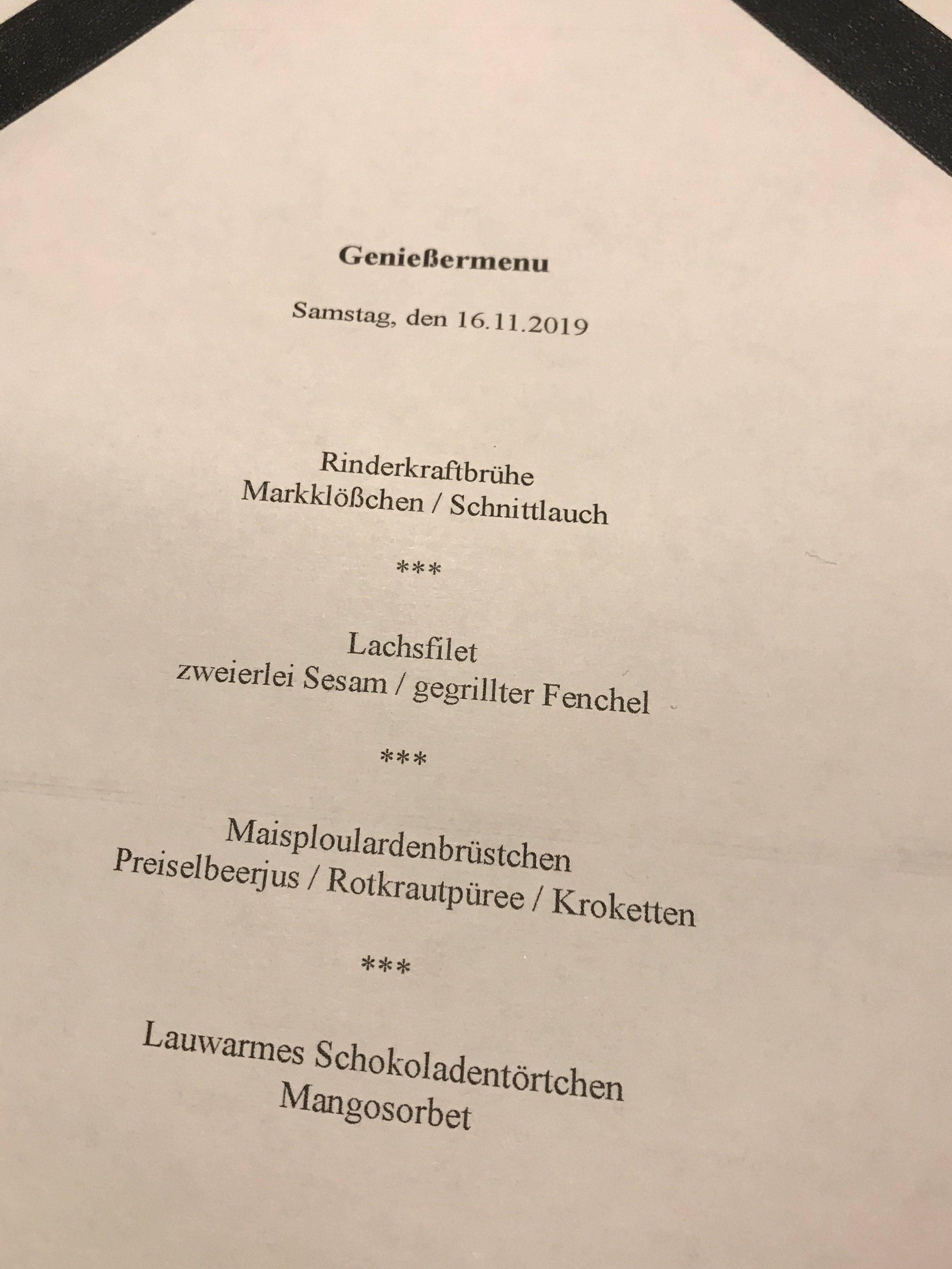 Kirnbacher Hof Salat zum Menue Samstag