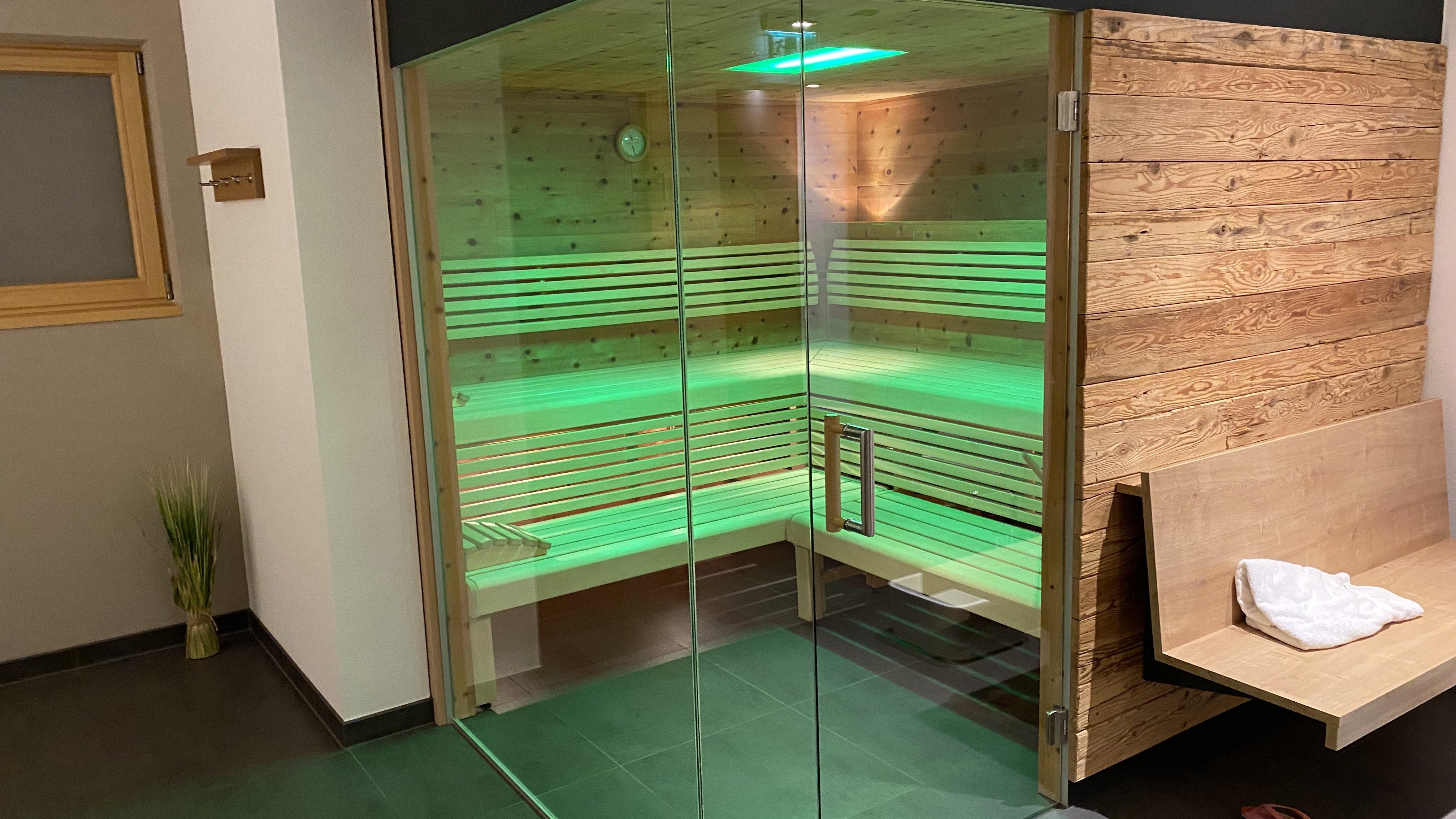 Familien Urlaub Allgäu Sauna