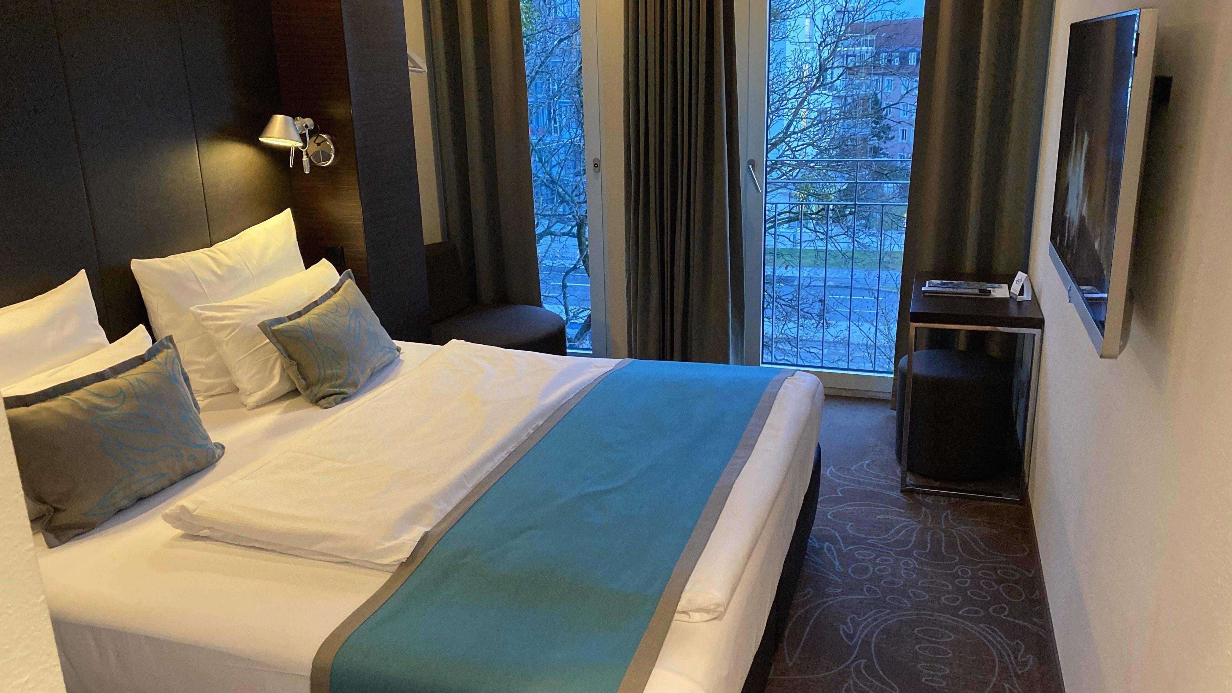 Motel One München Queen Size Zimmer