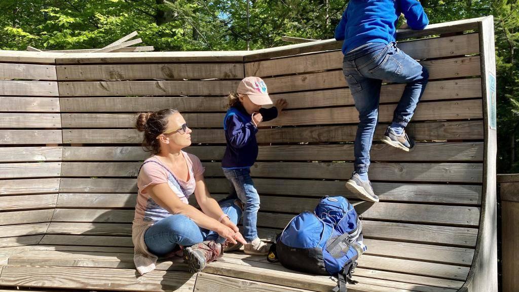 Wanderung Nordschwarzwald Wildnispfad auf dem Adlerhorst