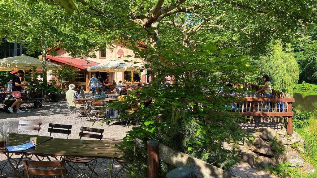 Paddelweiher Biergarten