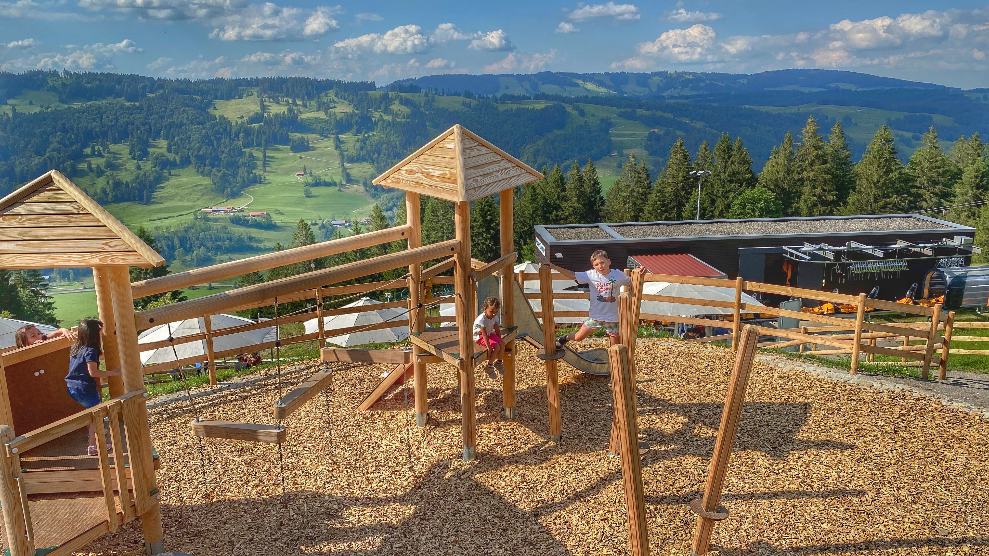 Alpsee Bergwelt Spielplatz Coaster