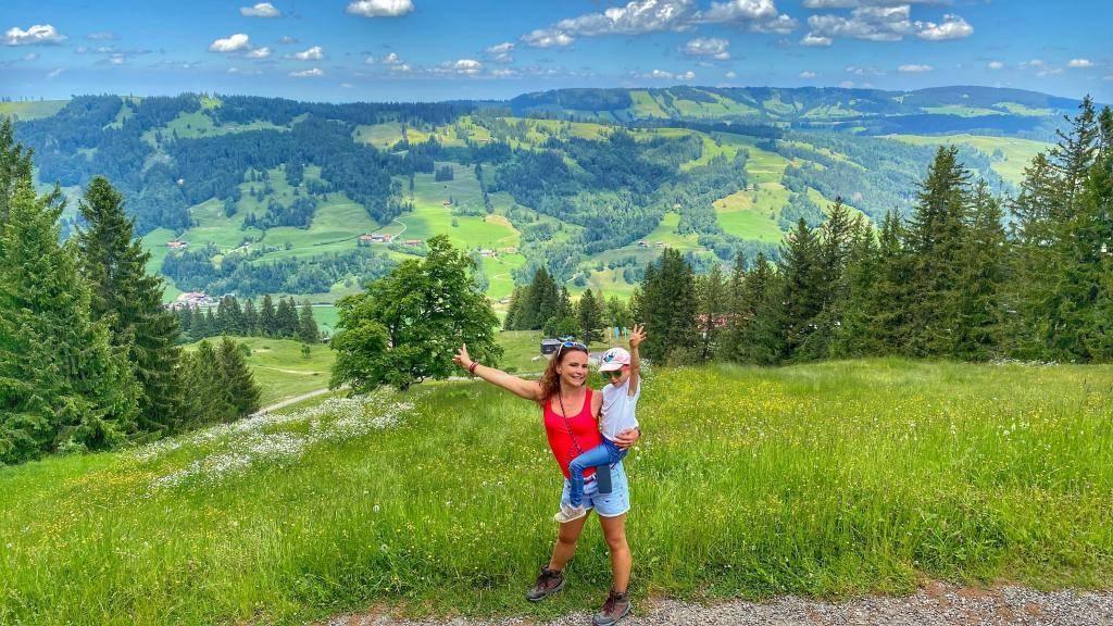 Alpsee Bergwelt Wanderung