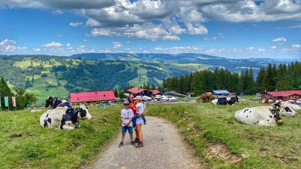 Wanderweg Alpe Obere Kalle