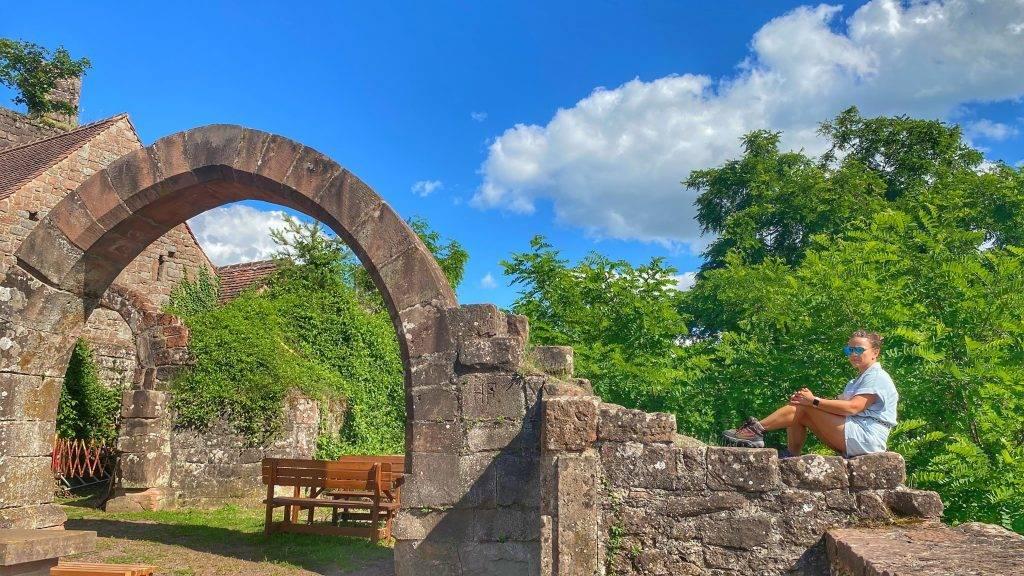 Burg Madenburg Torbogen