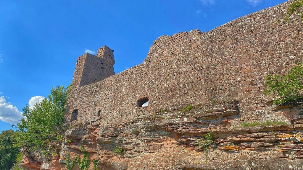 Burg Madenburg Befestigungsmauer