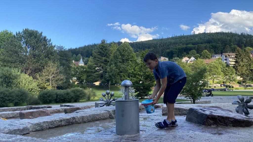 Bad Herrenalb Wasser Spielplatz
