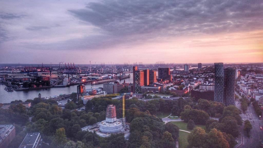 Hamburg Skyline Hafen