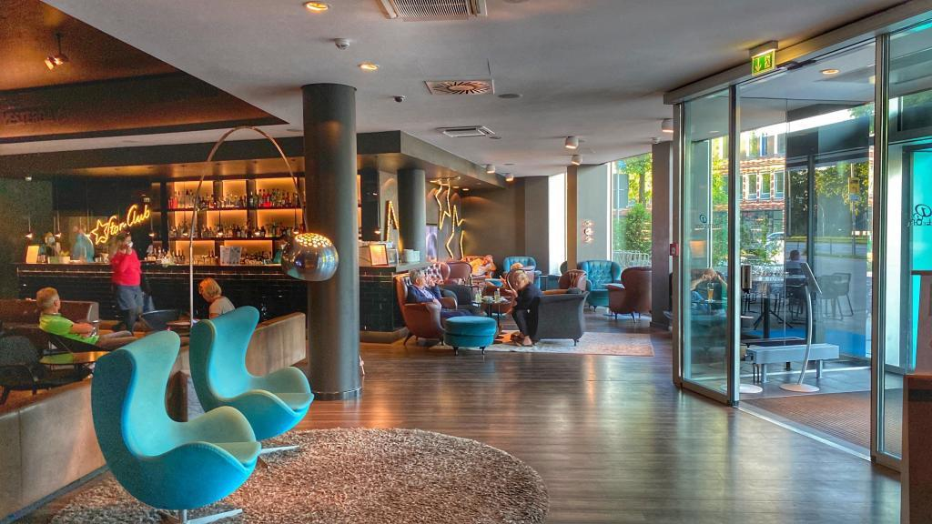 Motel One Hamburg am Michel Lobby