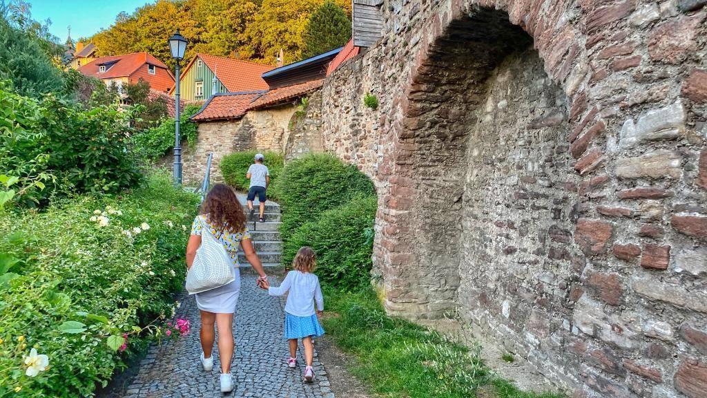 Alte Stadtmauer Wernigerode
