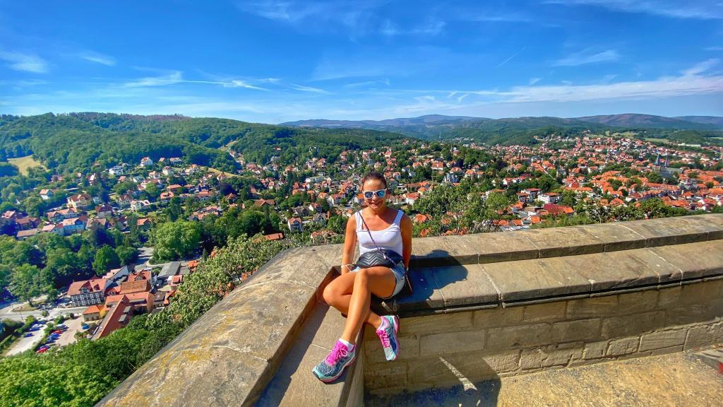 Ausblick Schloss Wernigerode