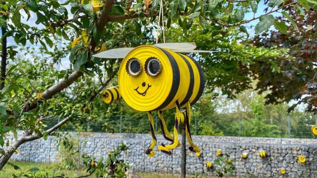 Biene Konserve Bürgerpark Wernigerode