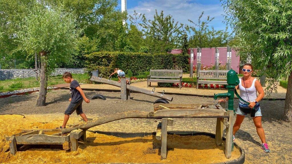 Wasser Spielplatz Wernigerode