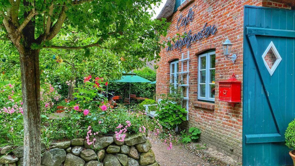 Außenbereich Cafe Föhr