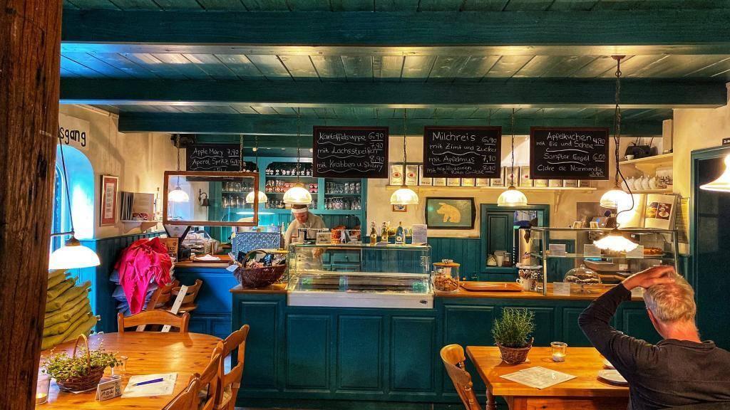 Gastraum Cafe im Apfelgarten