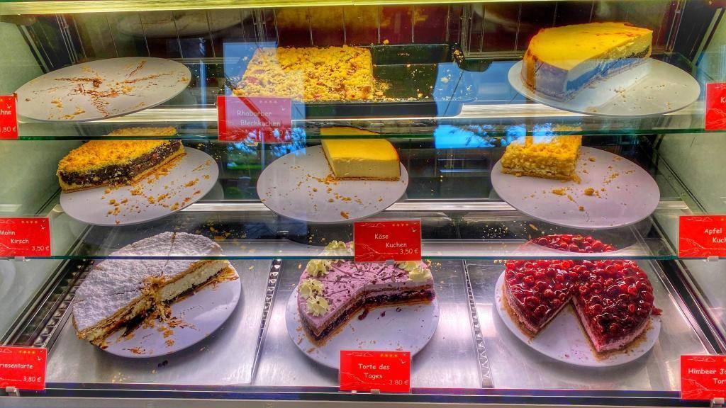 Kuchen Kliff Cafe Föhr