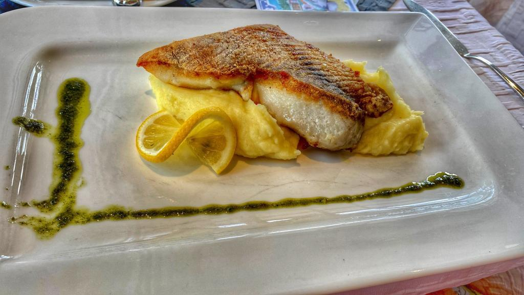 Fischgericht Restaurant Knudsen