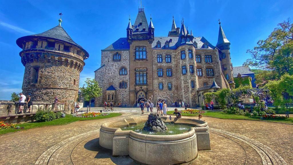 Innenhof Schloss Wernigerode
