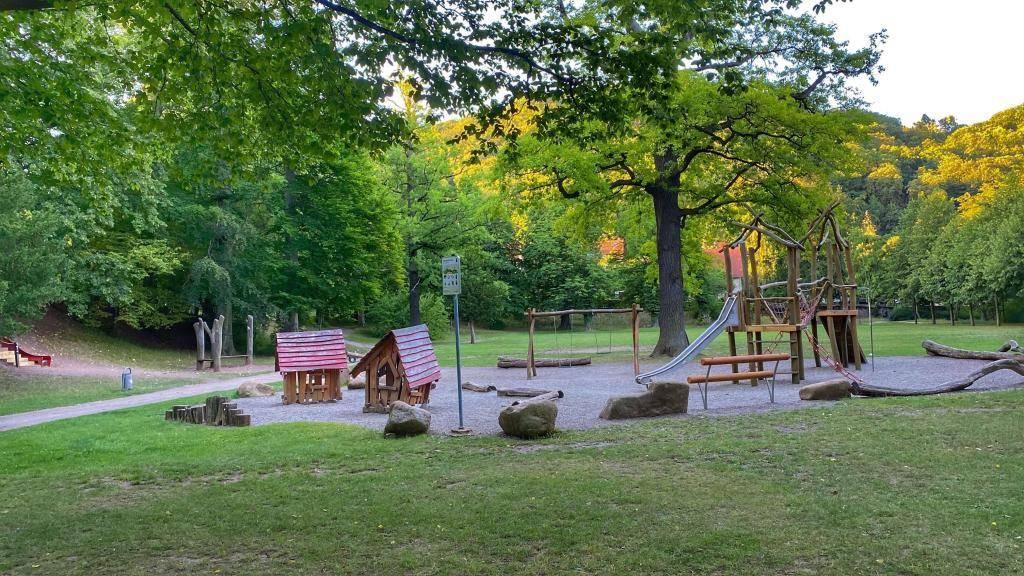 Spielplatz Lustgarten Wernigerode