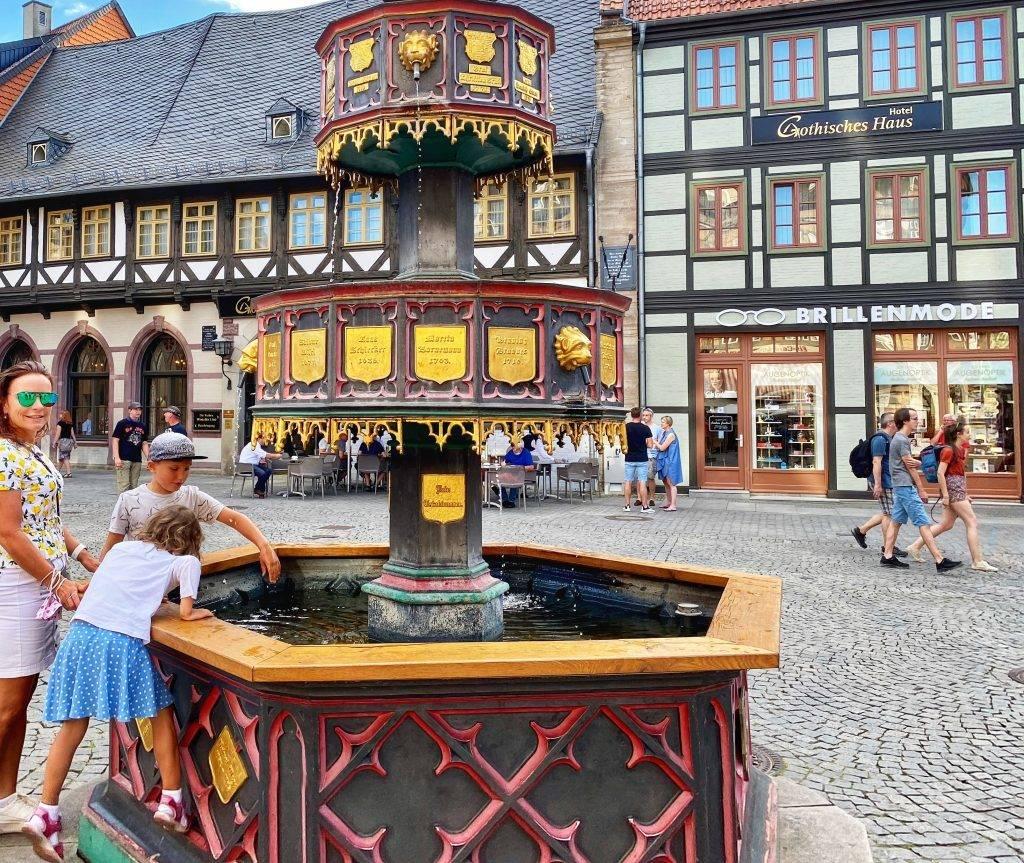 Wohltäterbrunnen Wernigerode