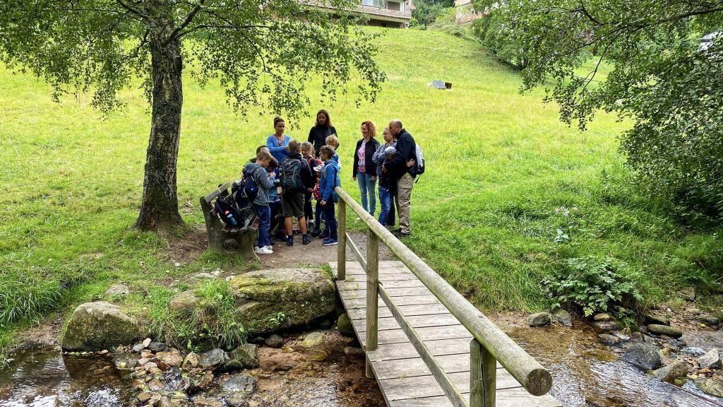 Lagebesprechung Annis Schwarzwald Geheimnis Bad Herrenalb