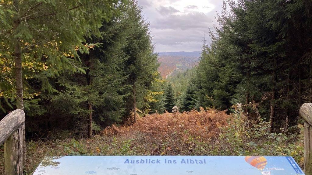 Ausblick Abtal Ettlingen