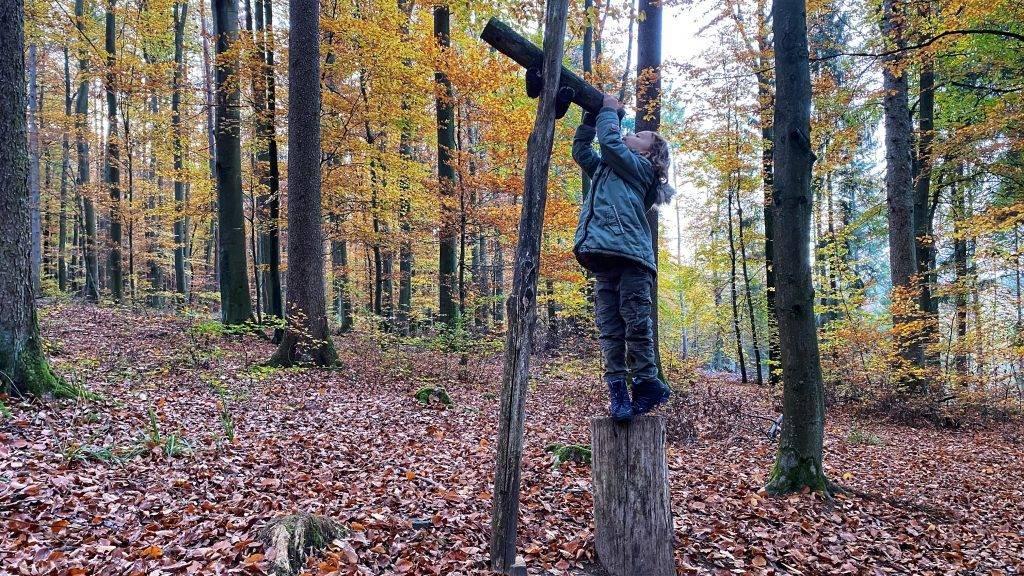 Holz Fernrohr
