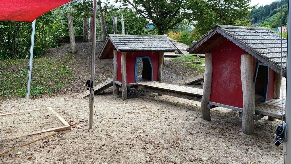 Spielplatz Vogtsbauernhöfe