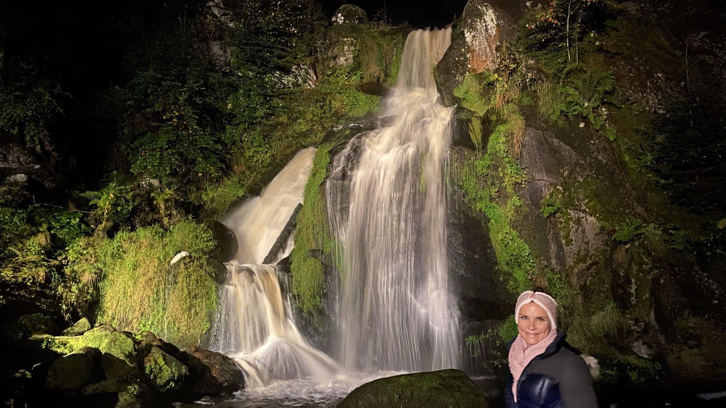 Triberger Wasserfälle Abend