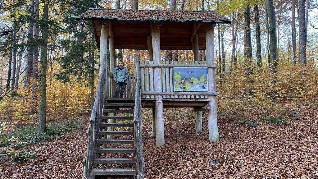 Ausguck Walderlebnispfad Ettlingen